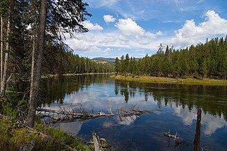 Henrys Fork (Snake River tributary) - Henrys Fork of the Snake River near Coffee Pot Rapids