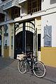 Herinneringsplaquette in de gevel van Restaurant de Atlas in Zwolle, oprichtingsplek van de SDAP.jpg