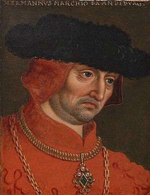 Herman, Margrave of Brandenburg-Salzwedel - Herman, Margrave of Brandenburg-Salzwedel by Anton Boys