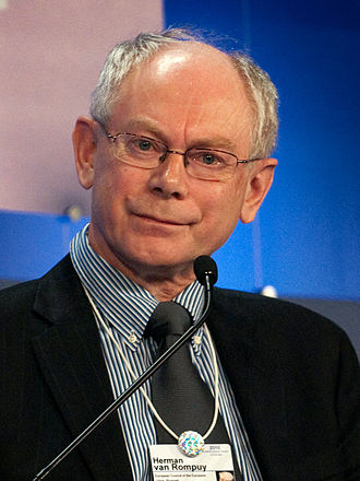 President of the European Council - Herman Van Rompuy