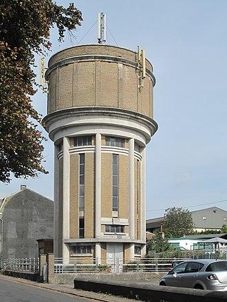Herve - Image: Herve, watertoren foto 2 2011 09 26 13.37