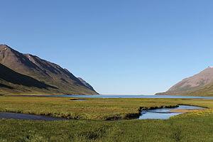 Fjallabyggð - Image: Hestfjall og Héðinsfjörður