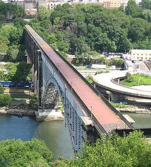 High Bridge (New York City) - from Highbridge Park (2008)