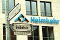 Hildesheimer Straße Ecke Geibelstraße in Hannover, Wohnungsgenossenschaft Heimkehr eG, die Geibelstraße entstand um 1876 als Weg, wurde nach dem Ausbau 1887 nach Emanuel Geibel benannt.jpg