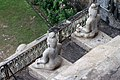 Hindu Saint Statue at Undavalli Caves (View from top).jpg