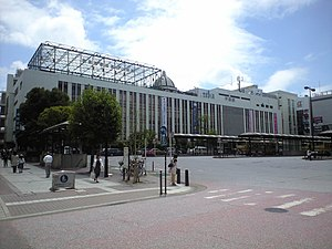 Hiratsuka Station - The north side of Hiratsuka Station
