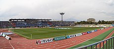 El Estadio Shonan BMW Hiratsuka, sede de la final.