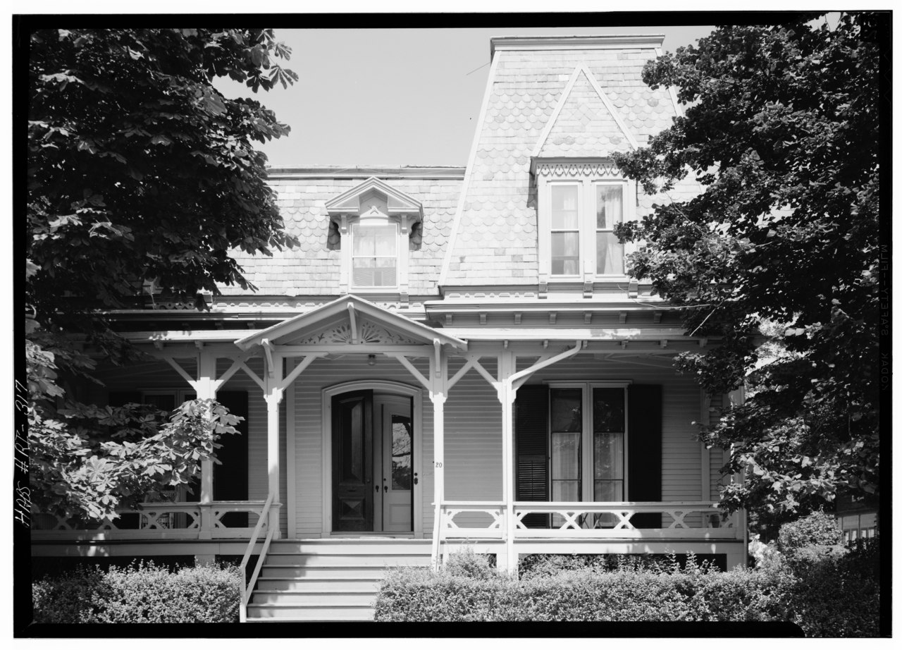 Historic Home Elevation : File historic american buildings survey august view