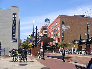 Dallas Downtown Historic District United States historic place