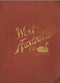 <i>History of West Australia</i> Book compiled by W.B. Kimberly