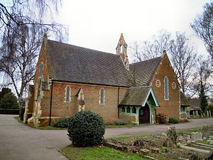 Hitchin Cemetery - The Chapel at Hitchin Cemetery