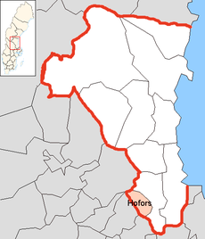 Hofors Municipality in Gävleborg County.png