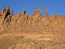 Parte del Sahara algerino