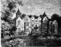 Holland House, from the north, 1873, from Old and New London.png