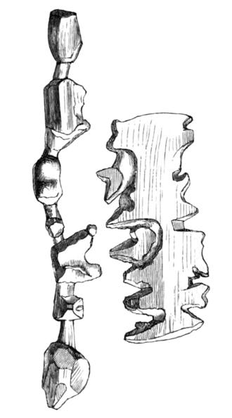 Ammassalik wooden maps - Island map (left) and coast map (right)