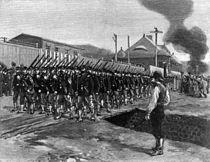 Homestead Strike - 18th Regiment arrives cph.3b03430.jpg