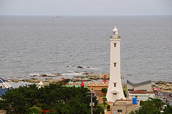 Homigot Lighthouse from New Millennium Memorial Hall.jpg