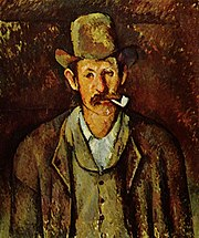 Homme à la pipe, par Paul Cézanne, Institut Courtauld.jpg