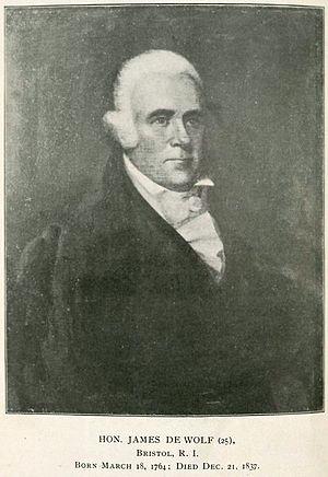 James DeWolf - Image: Hon. James De Wolf 1764 1837