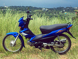 meaning of moped