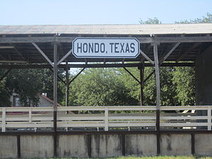 Hondo, Texas - Hondo, Texas sign