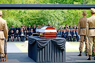 Gyula Horn - Funeral of Gyula Horn