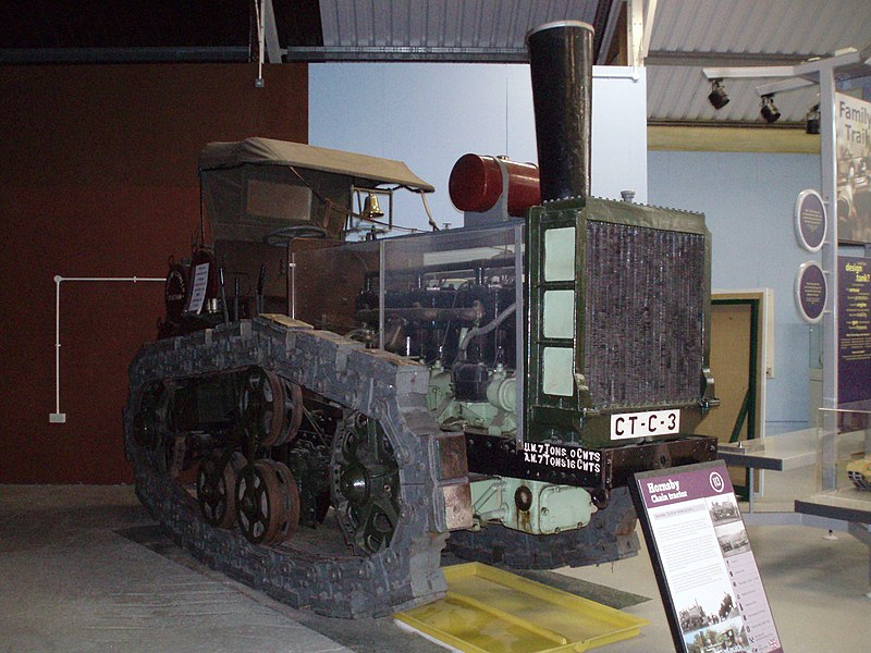 File:Hornsby tractor Bovington Flickr 4774502618.jpg