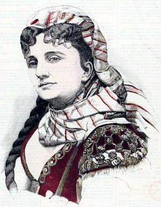 La Périchole - Hortense Schneider as La Périchole