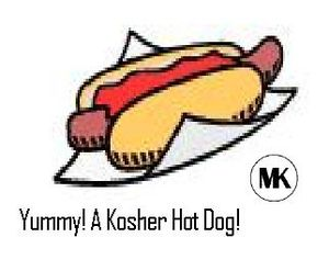 English: another hot dog