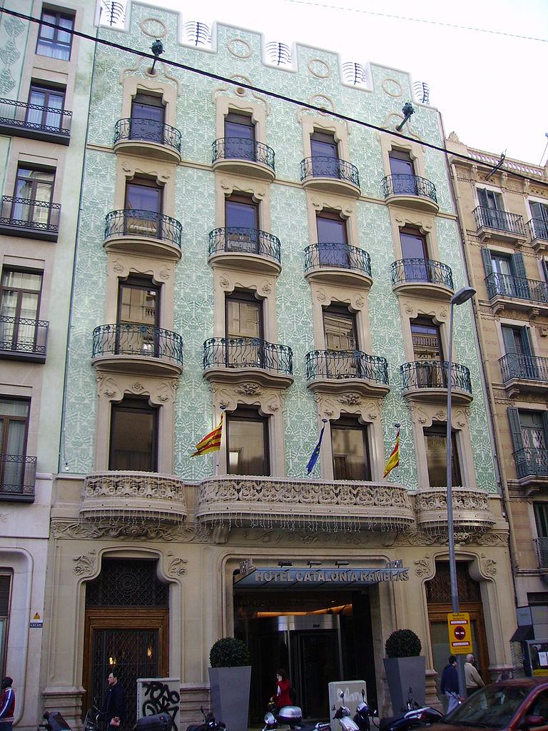 File hotel catalonia ramblas jpg wikimedia commons for Hotel catalonia barcelona
