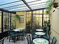 Hotel river (Firenze), veranda.JPG