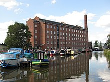 The former Hovis mill on the Macclesfield Canal