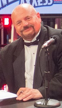 Howard Finkel WrestleMania 28.jpg