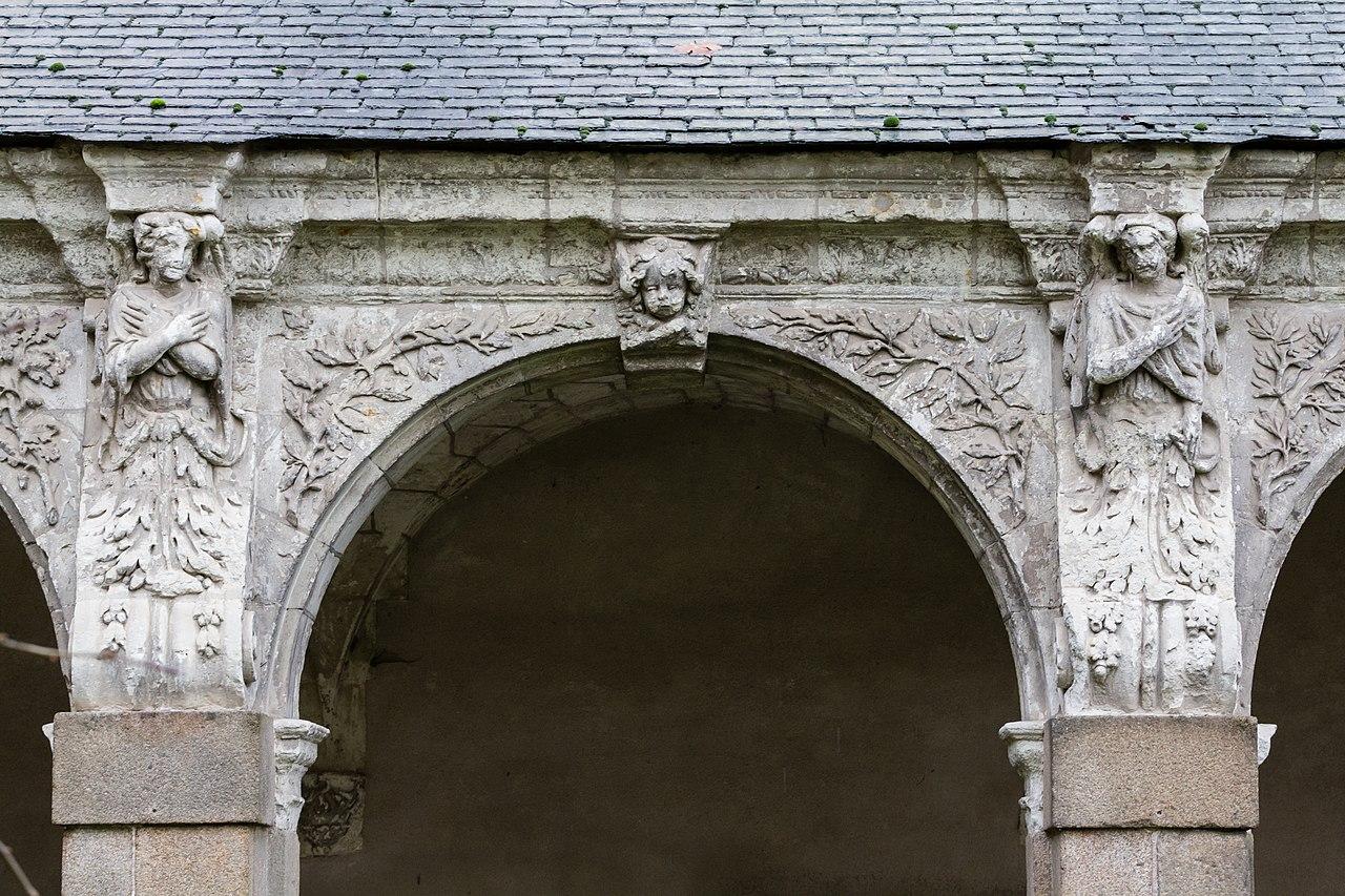 file huiti me arcade de la galerie ouest du clo tre de l 39 ancienne abbaye saint melaine rennes. Black Bedroom Furniture Sets. Home Design Ideas