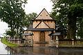 Humniska, kościół św. Stanisława, zewnątrz 01.jpg