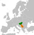 Hungary Serbia Locator Border.png