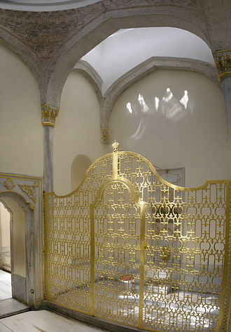 Turkish bath - The Baths of the Sultan and the Queen Mother (Hünkâr ve Vâlide Hamamları; late 16th century) at the Topkapı Palace in Istanbul