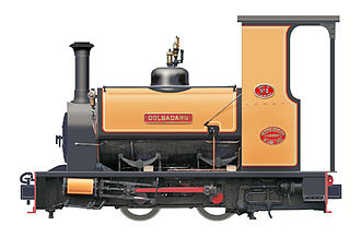 Hunslet Engine Company - Dolbadarn built for the Dinorwic Slate Quarries in 1922 and now on the Llanberis Lake Railway
