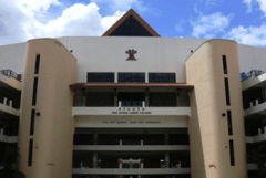 The Main Facade of Hwa Chong Junior College, before the integration as the college section of the integrated Hwa Chong Institution in 2005.