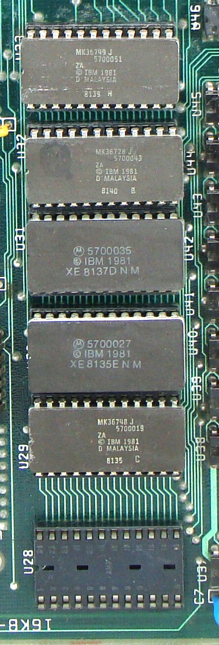 IBM PC ROM BIOS and IBM PC ROM BASIC (1981) b