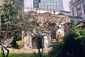 Anthony Bacon (1558–1601) - St. Olave's Church, London, UK