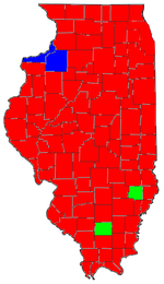United States Presidential Election In Illinois 2008