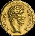 INC-1843-a Ауреус Элий Вер цезарь ок. 137 г. (аверс).png