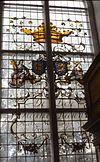 interieur, glas in loodraam - drachten - 20261676 - rce