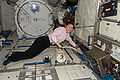 ISS-24 Tracy Caldwell Dyson during housekeeping.jpg