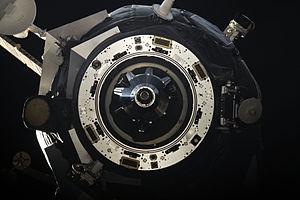 Progress M-11M - Progress M-11M departs the ISS on 23 August 2011.