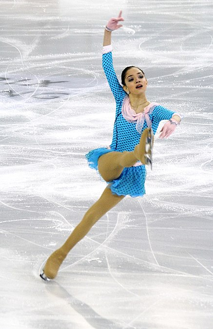 ISU Junior Grand Prix Final 2014 Evgenia Medvedeva 01.jpg