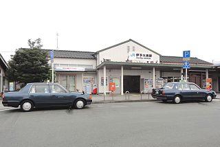 Iyo-Ōzu Station railway station in Ozu, Ehime prefecture, Japan
