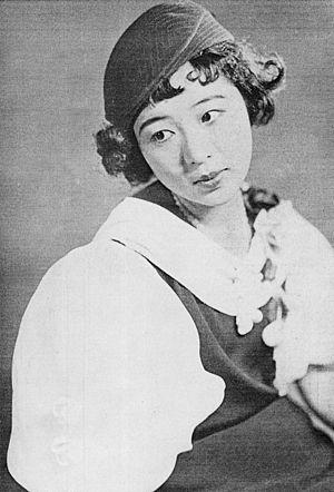 Haruyo Ichikawa - Haruyo Ichikawa in 1934