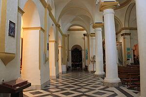 Church of Nuestra Señora de la Palma, Algeciras - The church nave